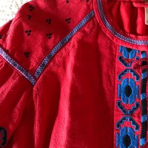 Free People Jackets & Coats - Free people embroidered jacket in XS